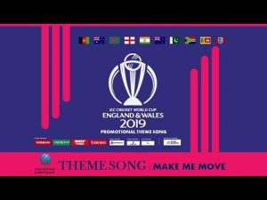 Cricket world cup 2019 theme song release date